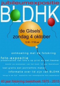 Tentoonstelling 4 oktober 2015