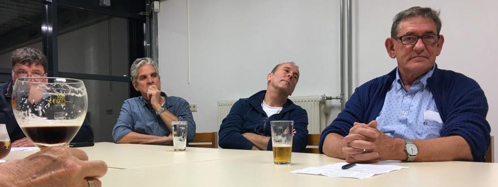 Alphons, Will, Peter, Henk