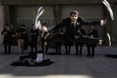 De dansende muzikant