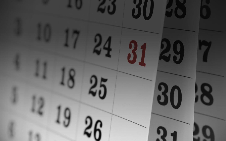 Dagen van de maand