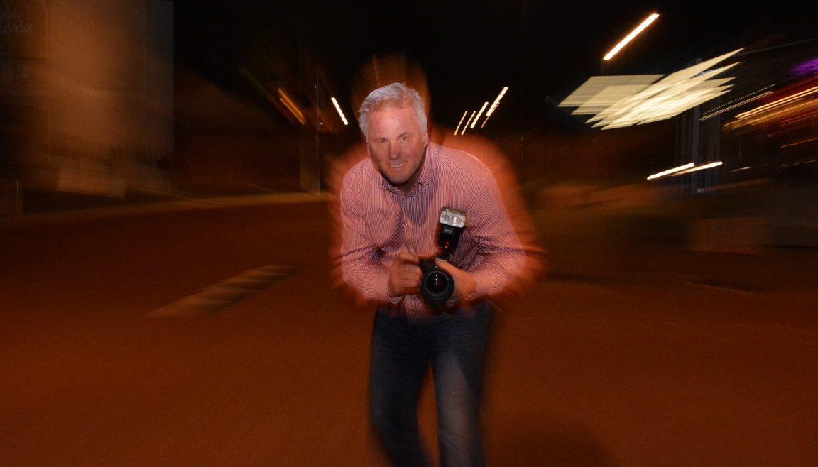 Sharon fotografeert Mathy