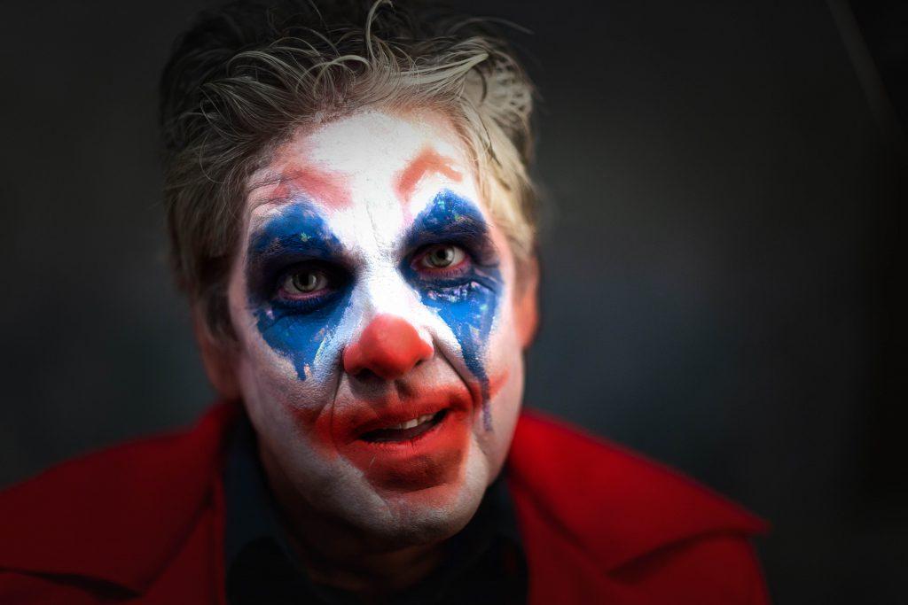 Will de clown die het leuk maakt!