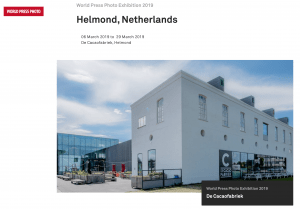 Bezoek World Press Photo Exhibition 2019 en fotomiddag / VERVALLEN