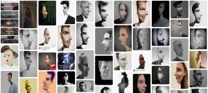 Optische illusie, een 2 richtingen portret maken